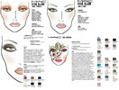 MAC Cosmetics Face Charts